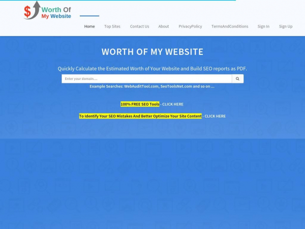 worthofmywebsite.com